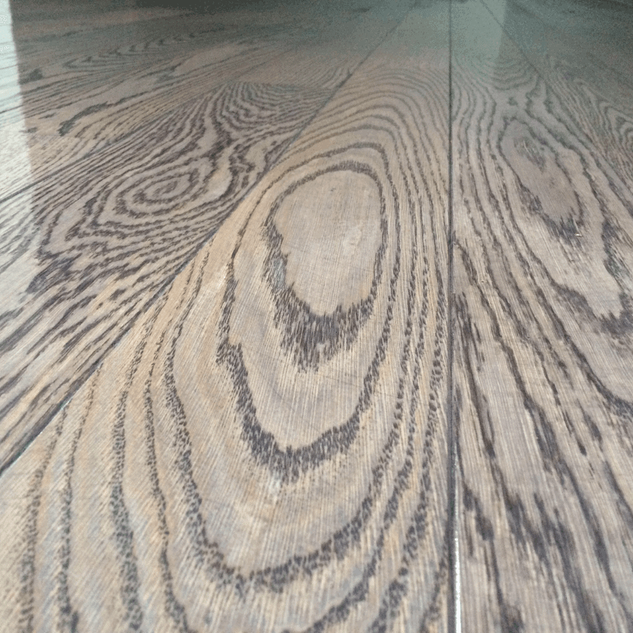 Parquet and stairs