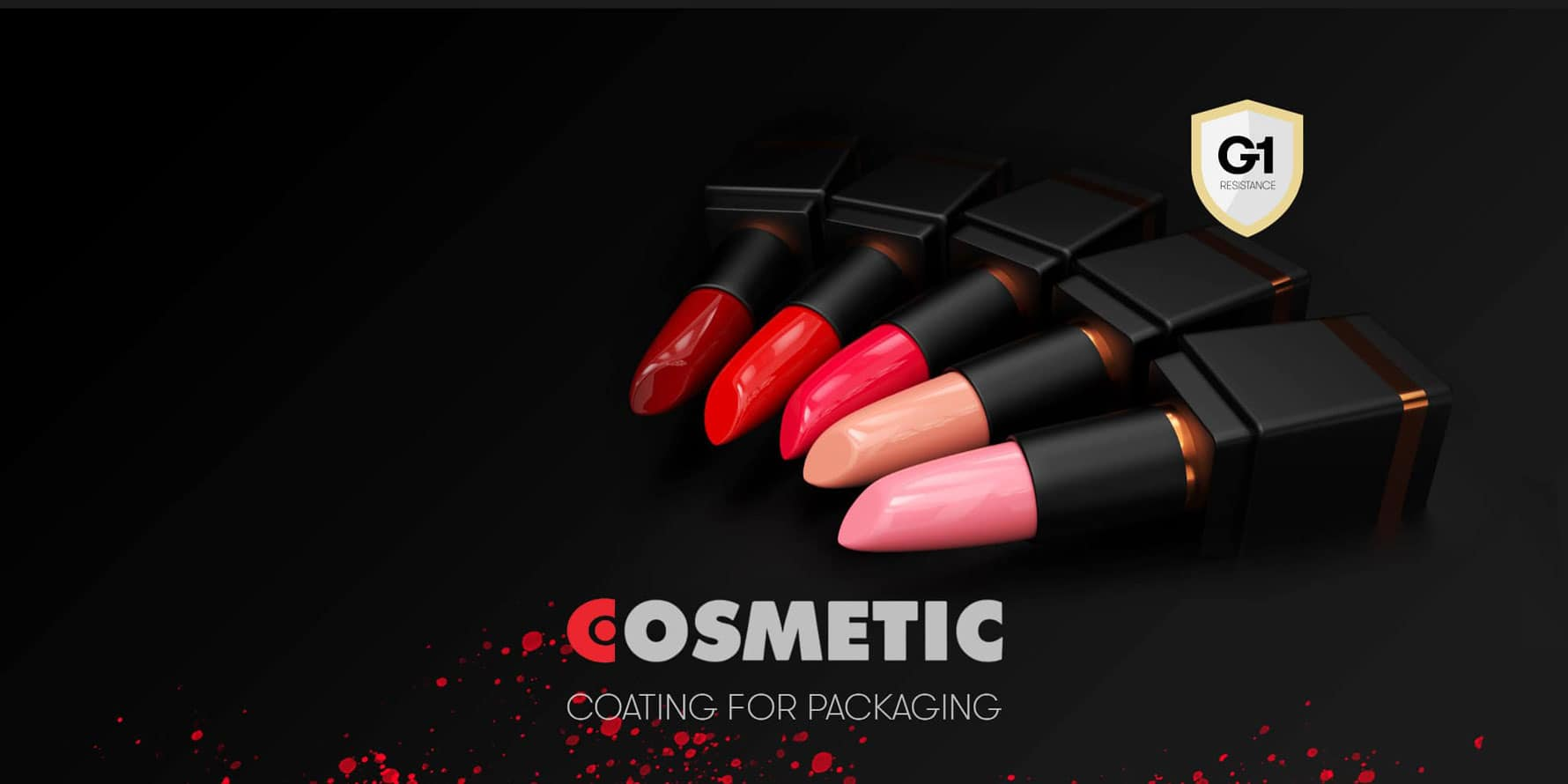 Varnishes for <br>cosmetic packaging